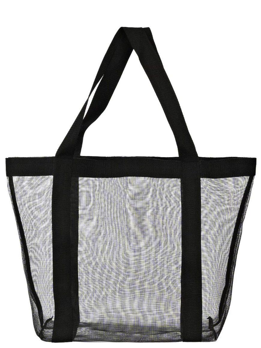 сумка шоппер из сетки