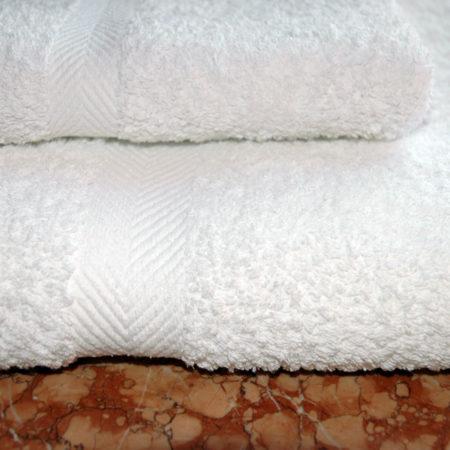 Полотенце белое, 550 гр/м2