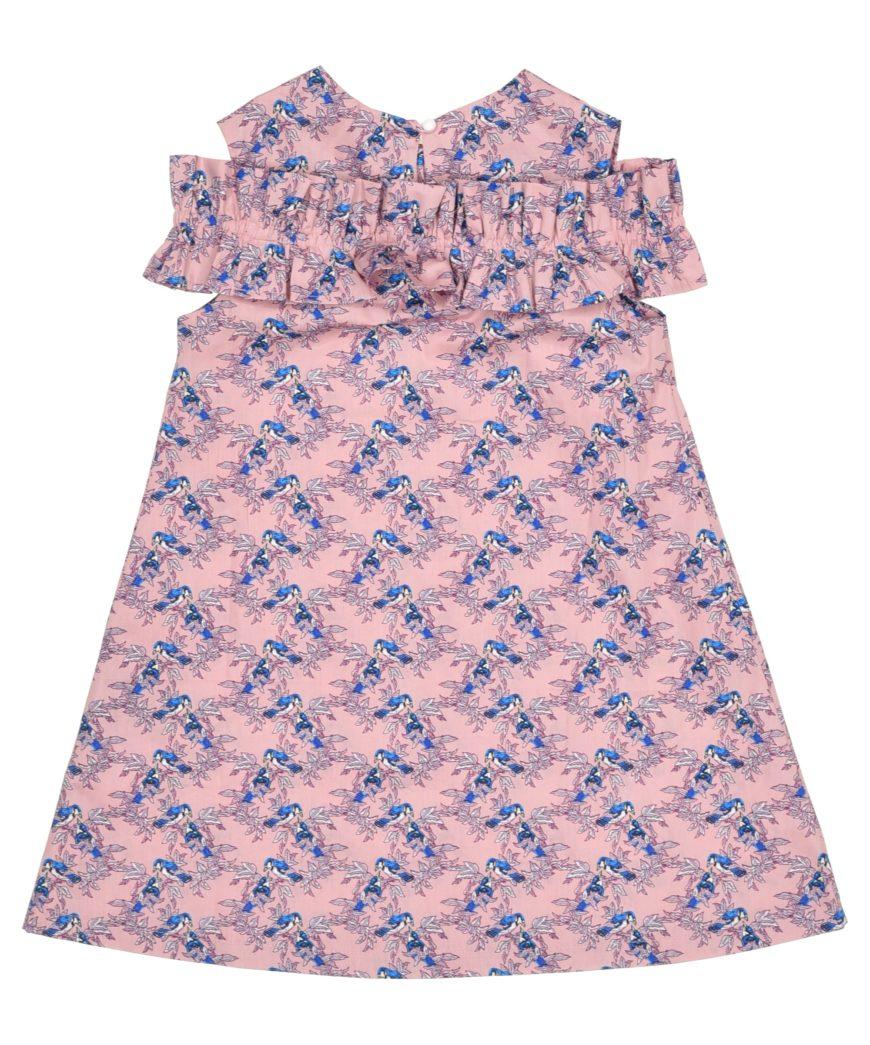 Платье розовое для девочки