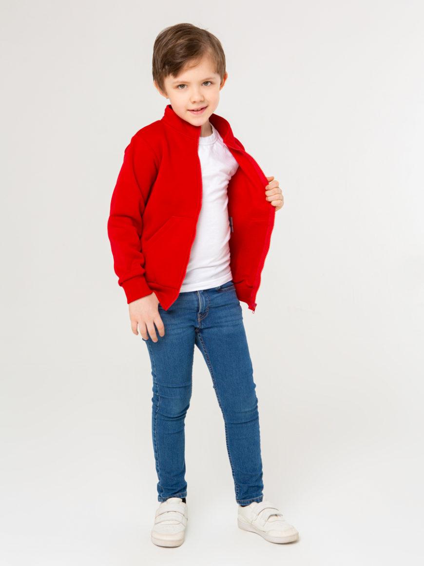 Толстовка красная для детей